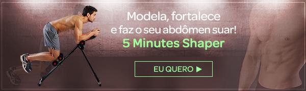 Aparelho De Ginástica 5 Minutes Shaper Polishop + Guia