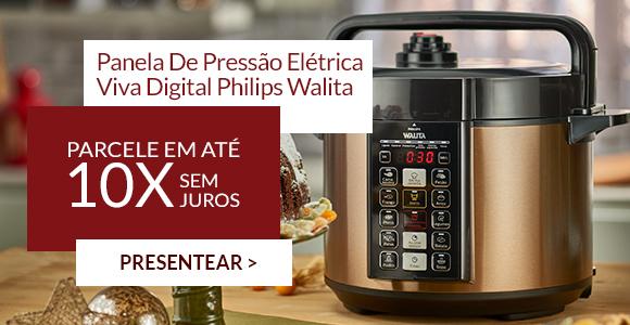 Panela De Pressão Elétrica Viva Digital Philips Walita
