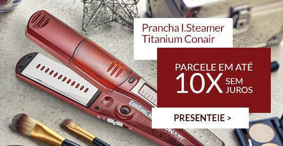 Prancha I.Steamer Titanium Conair
