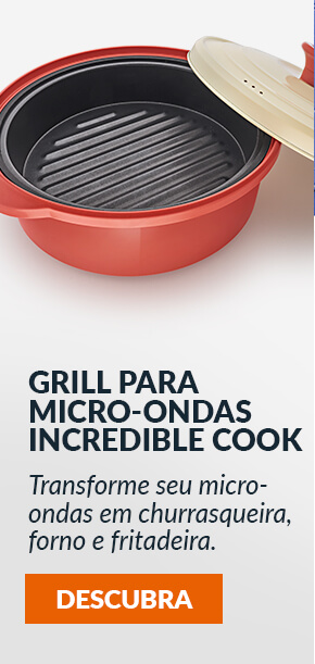 Grill para Micro Ondas Incredible Cook