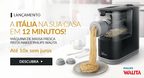 Máquina Automática De Massa Fresca Pasta Maker Philips Walita