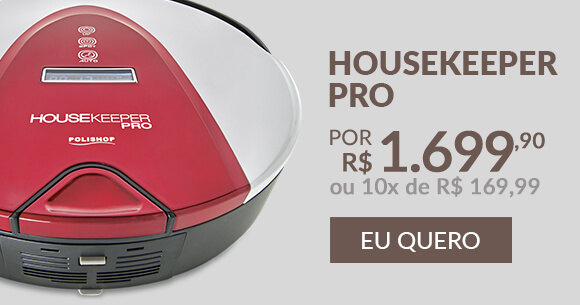 Robô Aspirador Housekeeper Pro Polishop