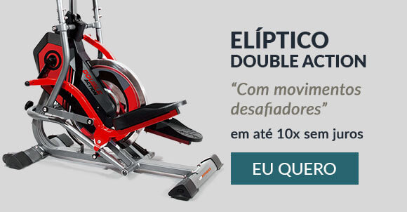 Elíptico Double Action Upfitness