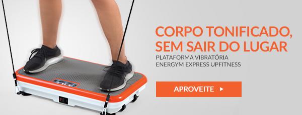 Plataforma Vibratória Energym Express Upfitness