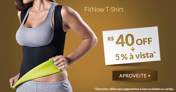 Fitnow T-Shirt Polishop - Feminino